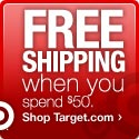 Spend $50, Get Free Shipping on Select Items at Target.com