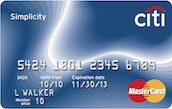 Citi Simplicity® Card Deals