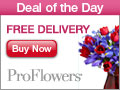 Get FREE Standard Shipping on selected Valentine's Day Flowers & Gifts