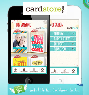 374659_Real Cards Straight from Your Heart, By Way of Your iPhone! Download the FREE Cardstore iPhone App